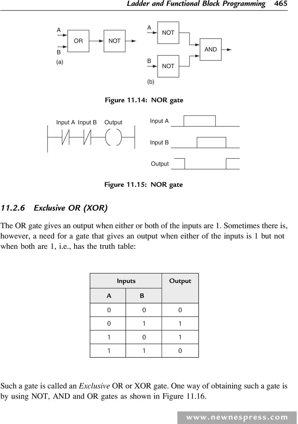 Ladder And Functional Block Programming Pdf Relay Logic Diagram Of Xor Gate Sometimes There Is However A Need For That Gives An Output When