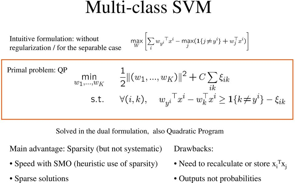 Multi-Class and Structured Classification - PDF