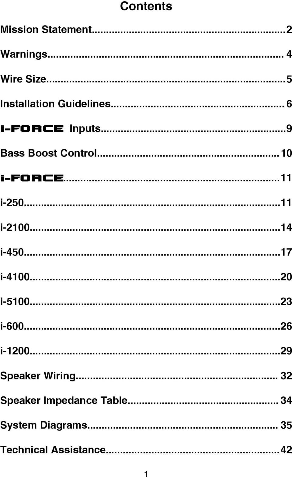 Contents Mission Statement2 Warnings Wire Size5 Bass Boost Section Output Driver With Ic Transcription