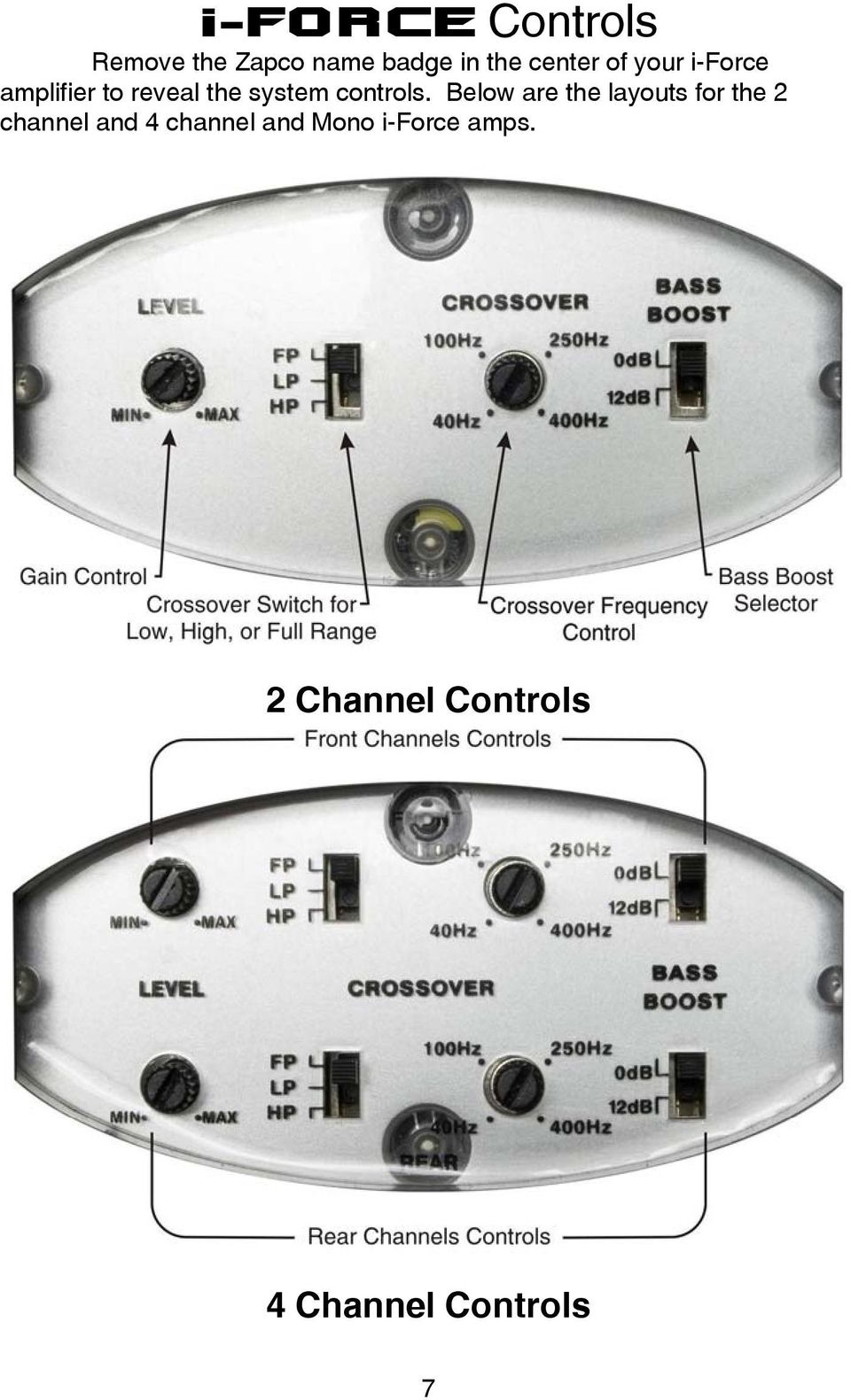 Contents Mission Statement2 Warnings Wire Size5 Bass Boost Section Output Driver With Ic Controls