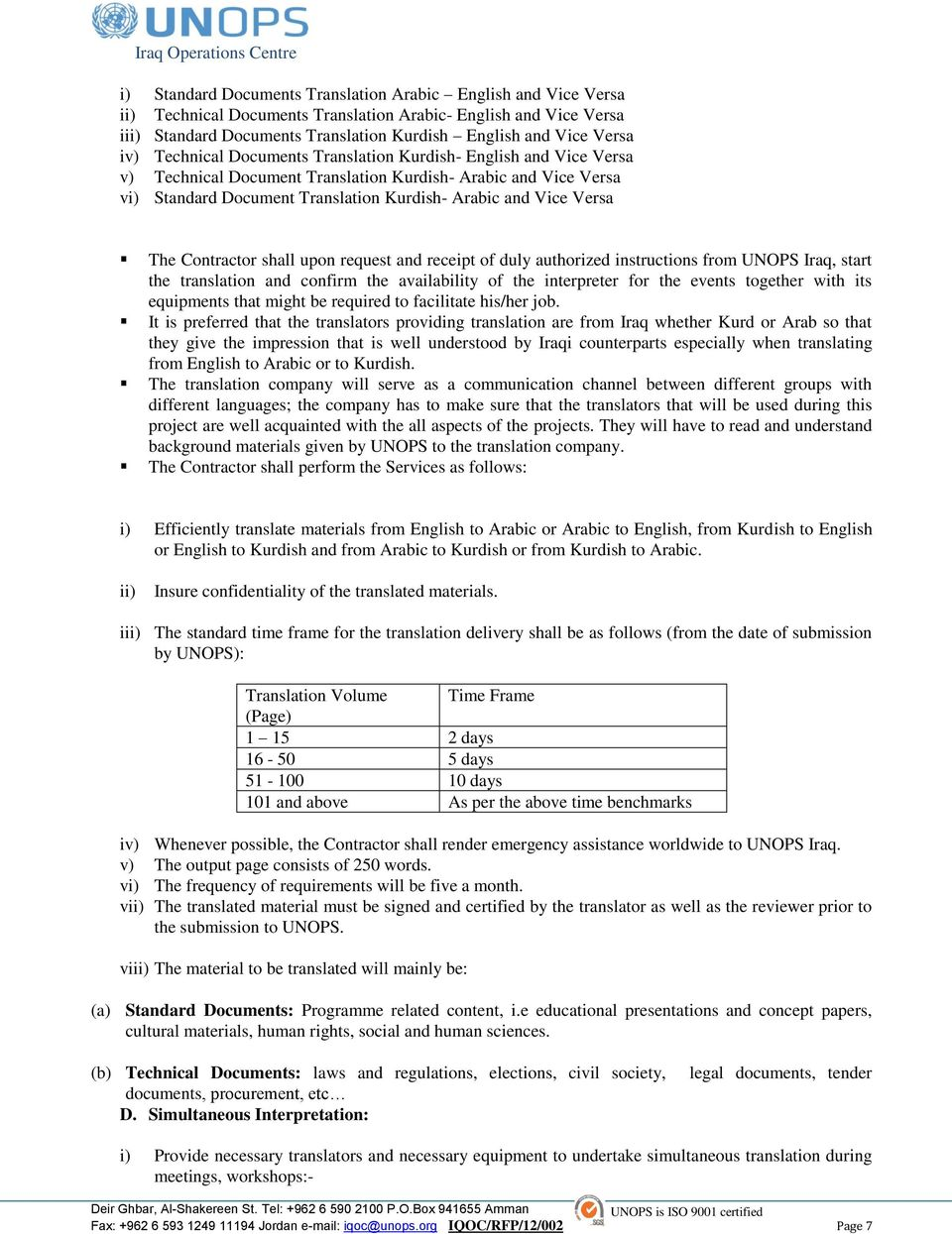 B Annex Ii Proposal Submission Form To Be Completed And Returned With Your Proposal And Pdf Free Download
