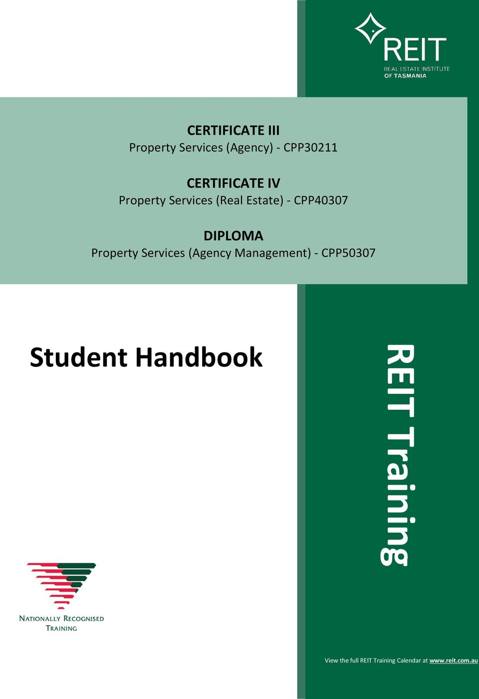 CPP40307 DIPLOMA Property Services (Agency Management) -
