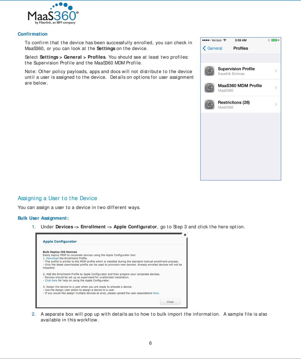 Using the Apple Configurator and MaaS PDF