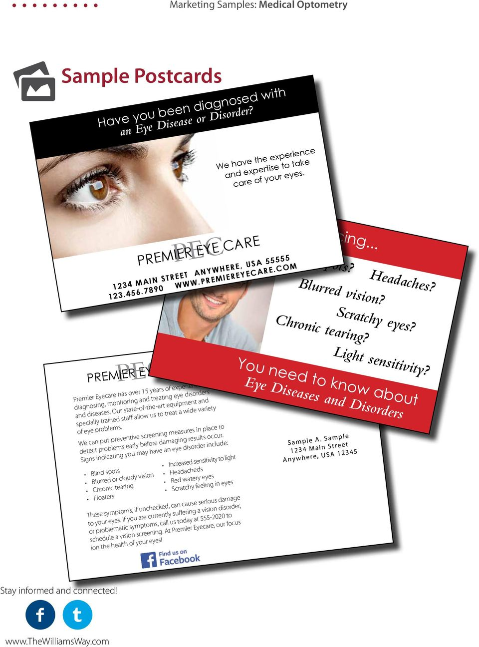 PEC PREMIER EYE CARE Premier Eyecare has over 15 years of experience in diagnosing, monitoring and treating eye disorders and diseases.