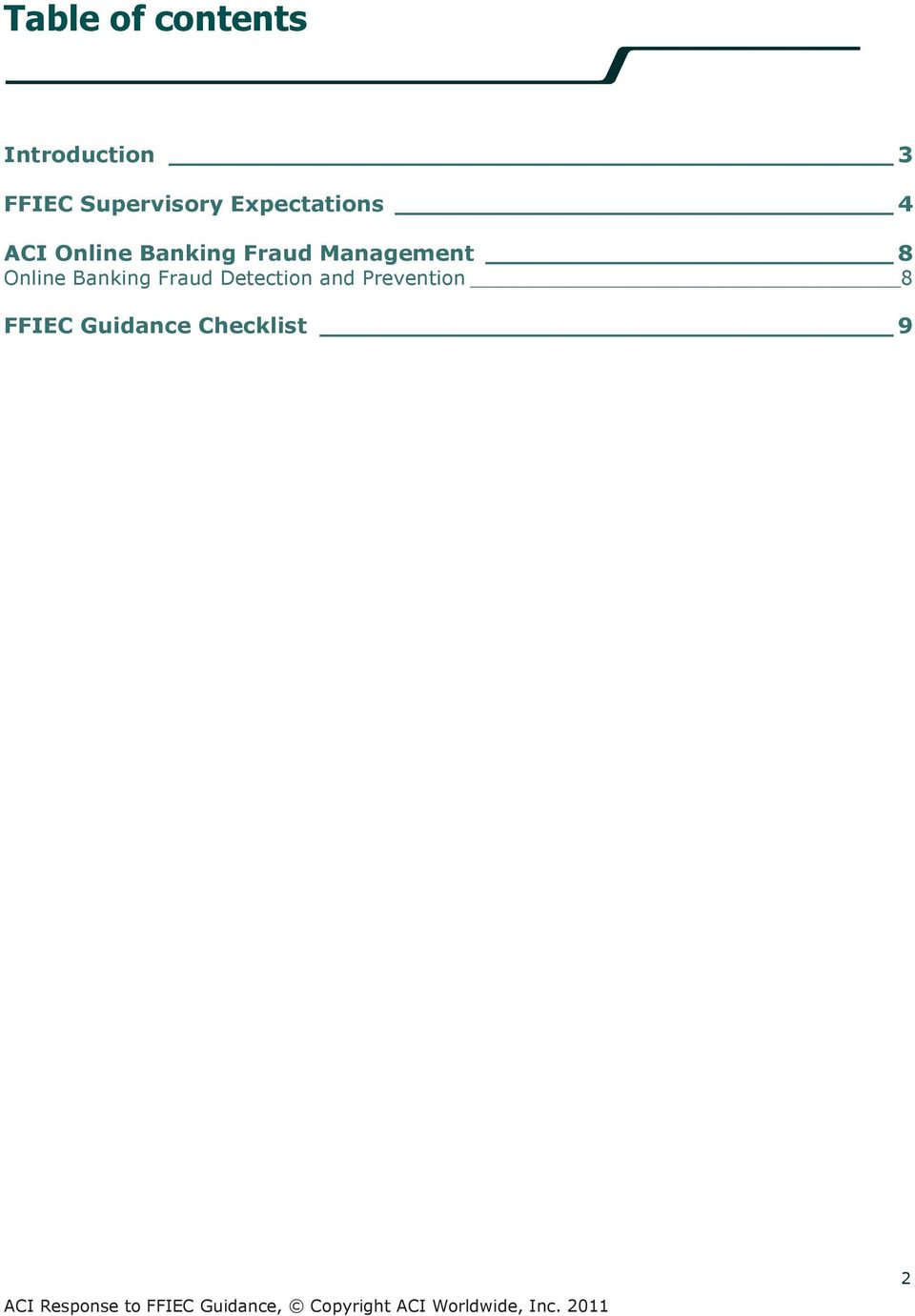 Banking Fraud Management 8 Online Banking