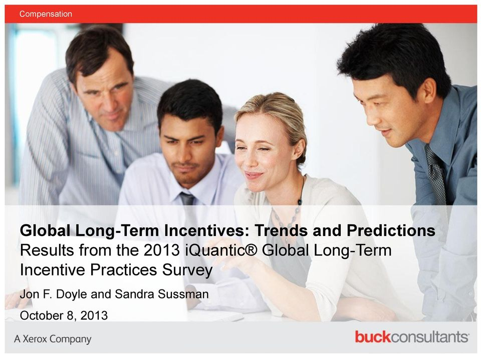 Global Long-Term Incentive Practices Survey