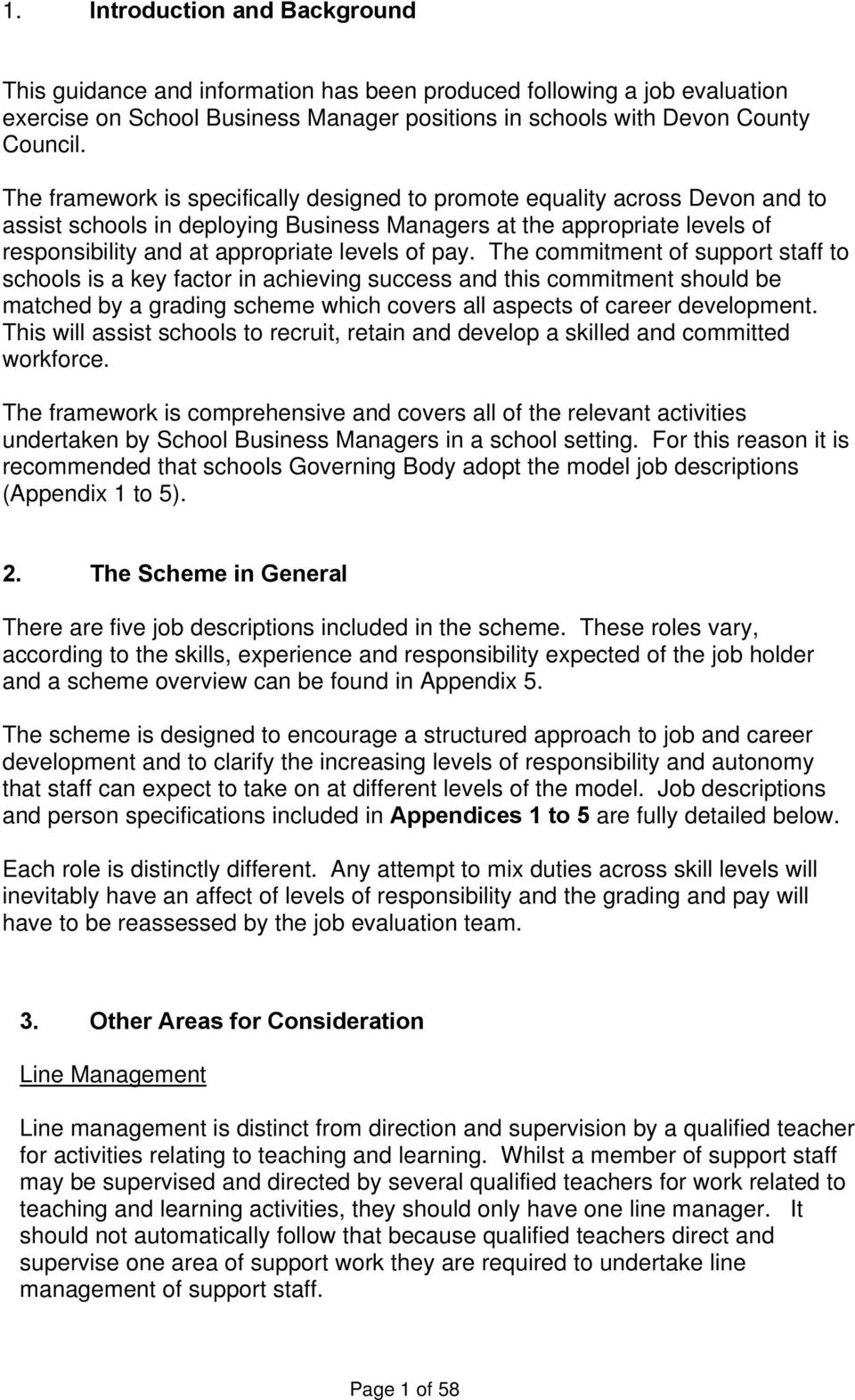 School Business Manager Information And Guidance Pdf Free Download