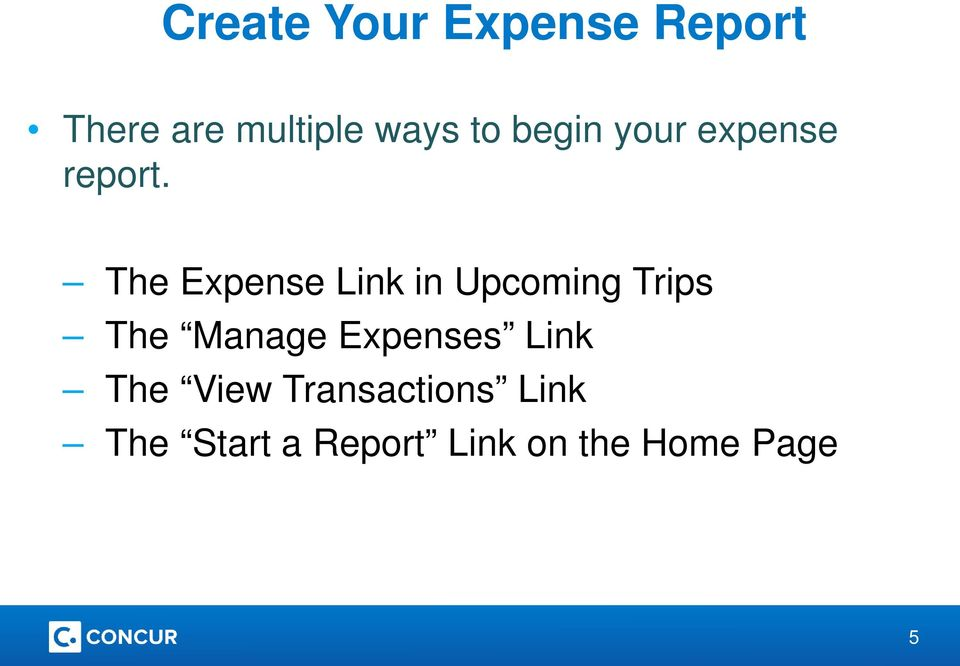 The Expense Link in Upcoming Trips The Manage