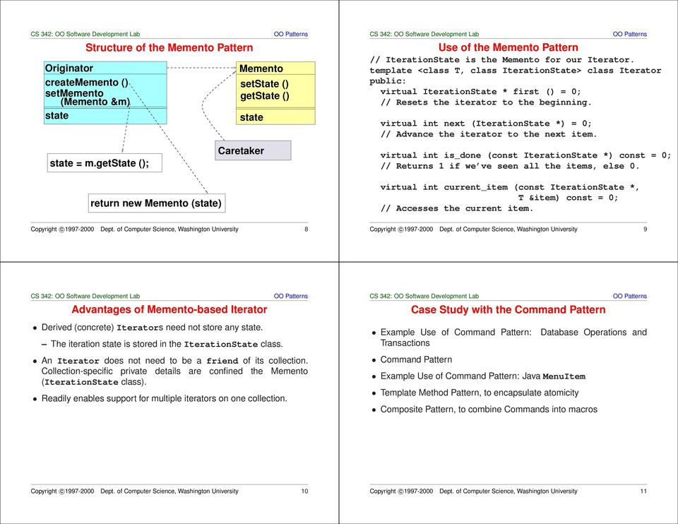 Command Pattern and Combinations - PDF