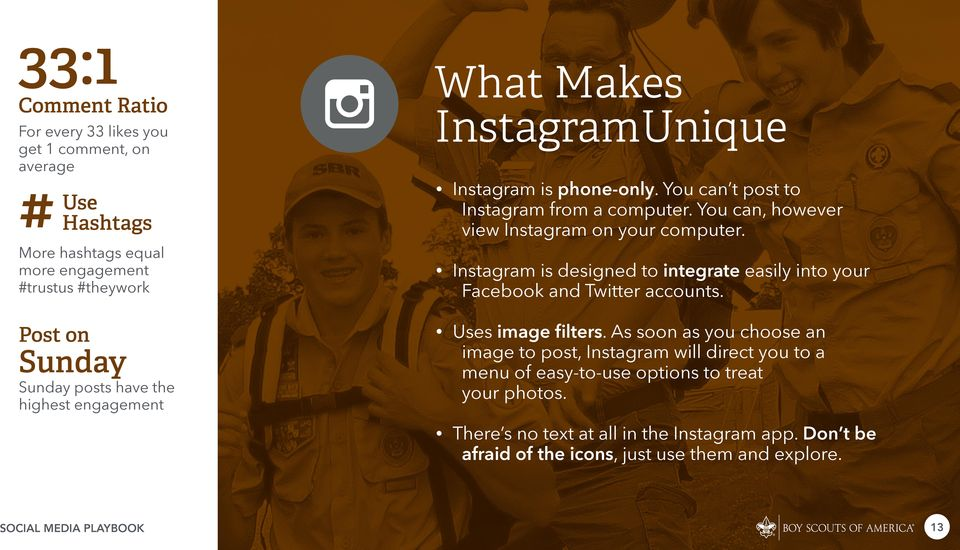 More hashtags equal more engagement #trustus #theywork Instagram is designed to integrate easily into your Facebook and Twitter accounts. Post on Uses image filters.