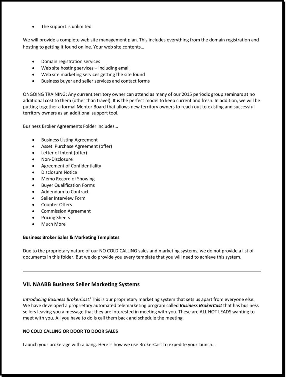 The North American Alliance Of Business Brokers Pdf