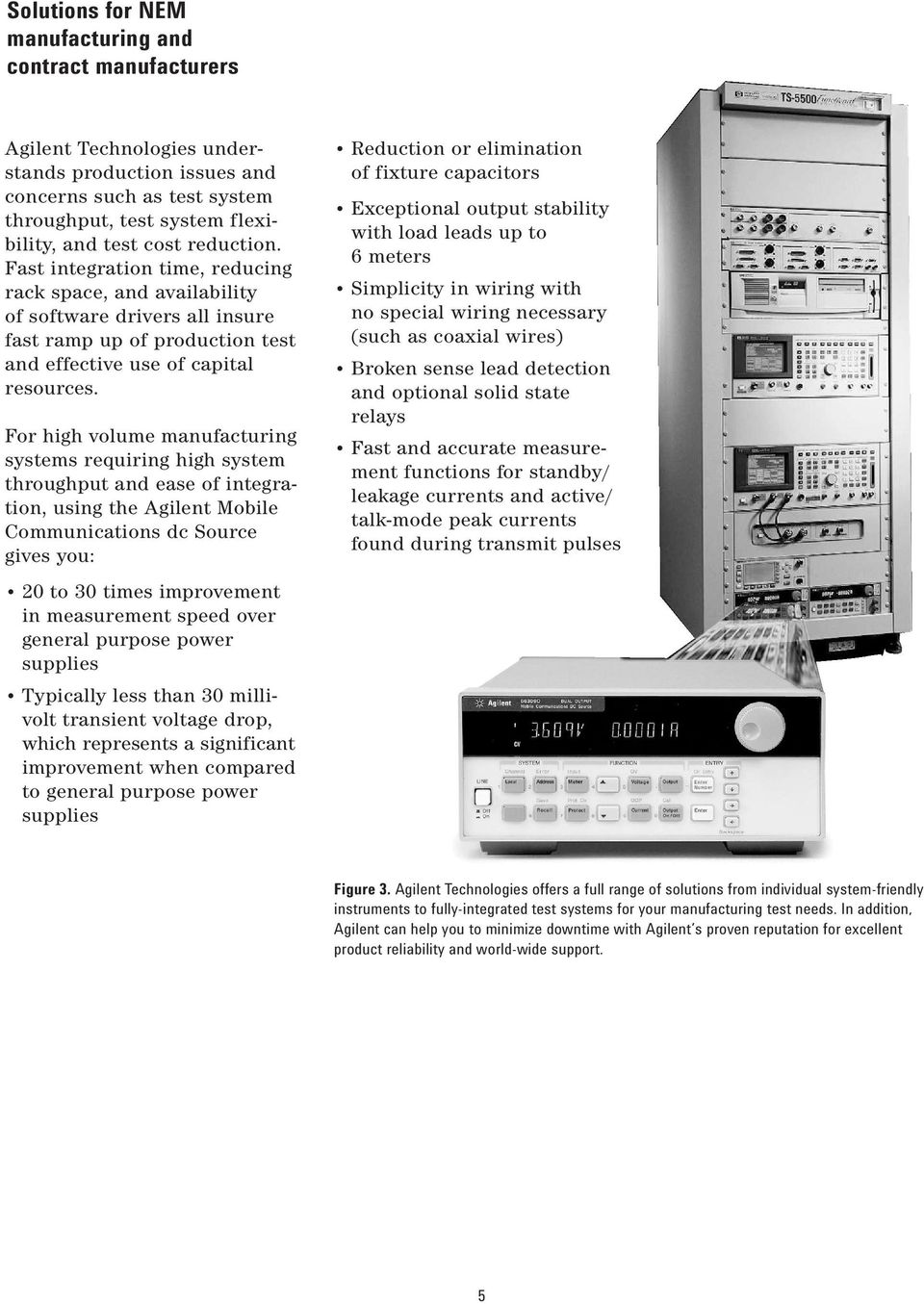 Agilent Mobile Communications Dc Sources Pdf Circuit It Can Uses With Power Supply Source 24vdc And Adjust Voltage For High Volume Manufacturing Systems Requiring System Throughput Ease Of Integration Using The