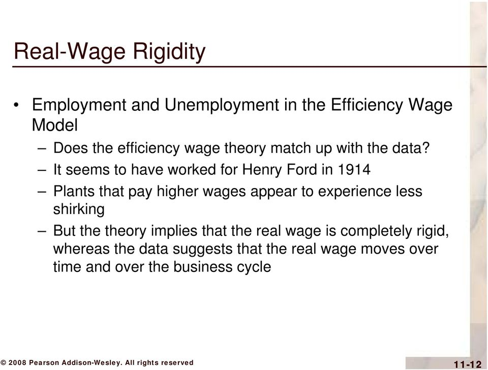 It seems to have worked for Henry Ford in 1914 Plants that pay higher wages appear to experience