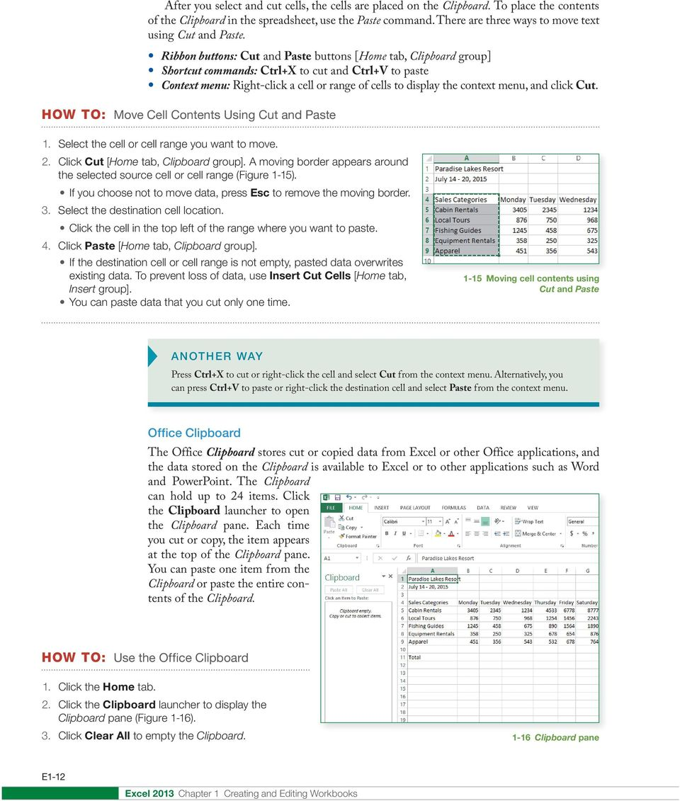 creating and editing workbooks student learning outcomes slos