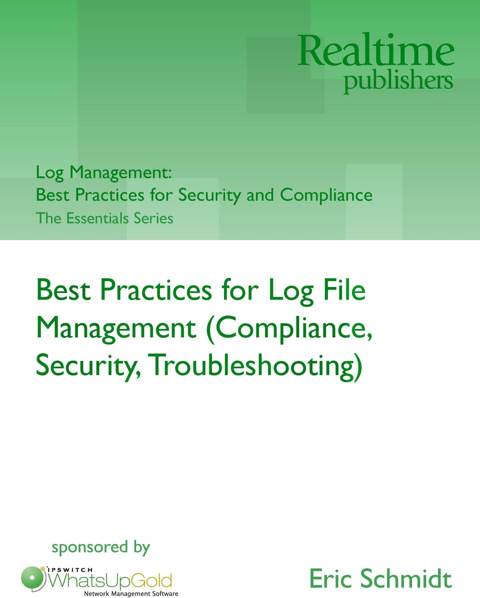 Series Best Practices for Log File