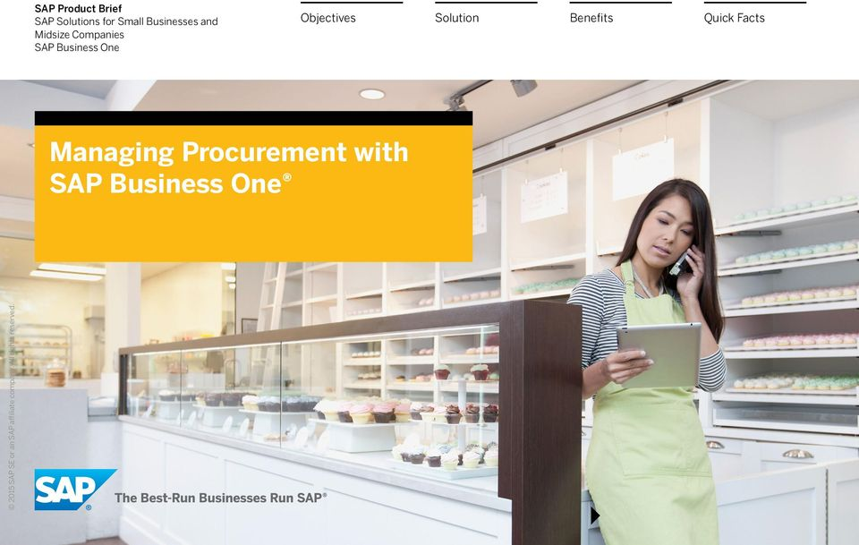 SAP Business One Objectives
