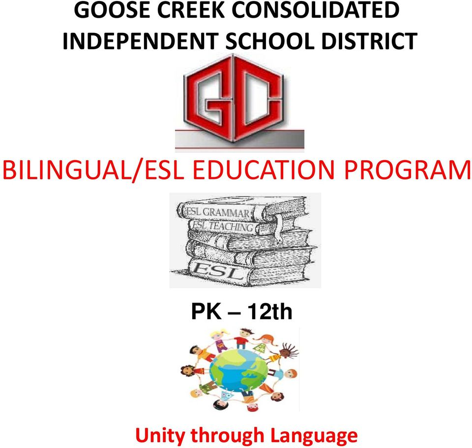 BILINGUAL/ESL EDUCATION