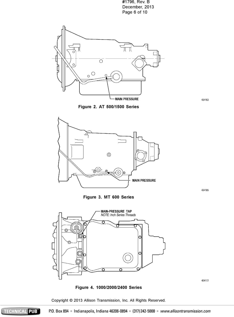 All Allison Transmission, Inc  Commercial Transmissions and