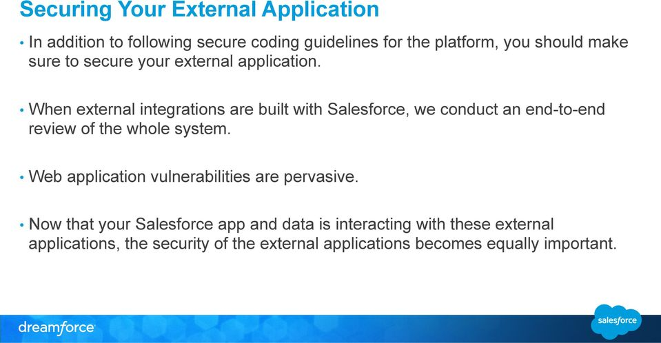 Secure Coding  External App Integrations  Tim Bach Product