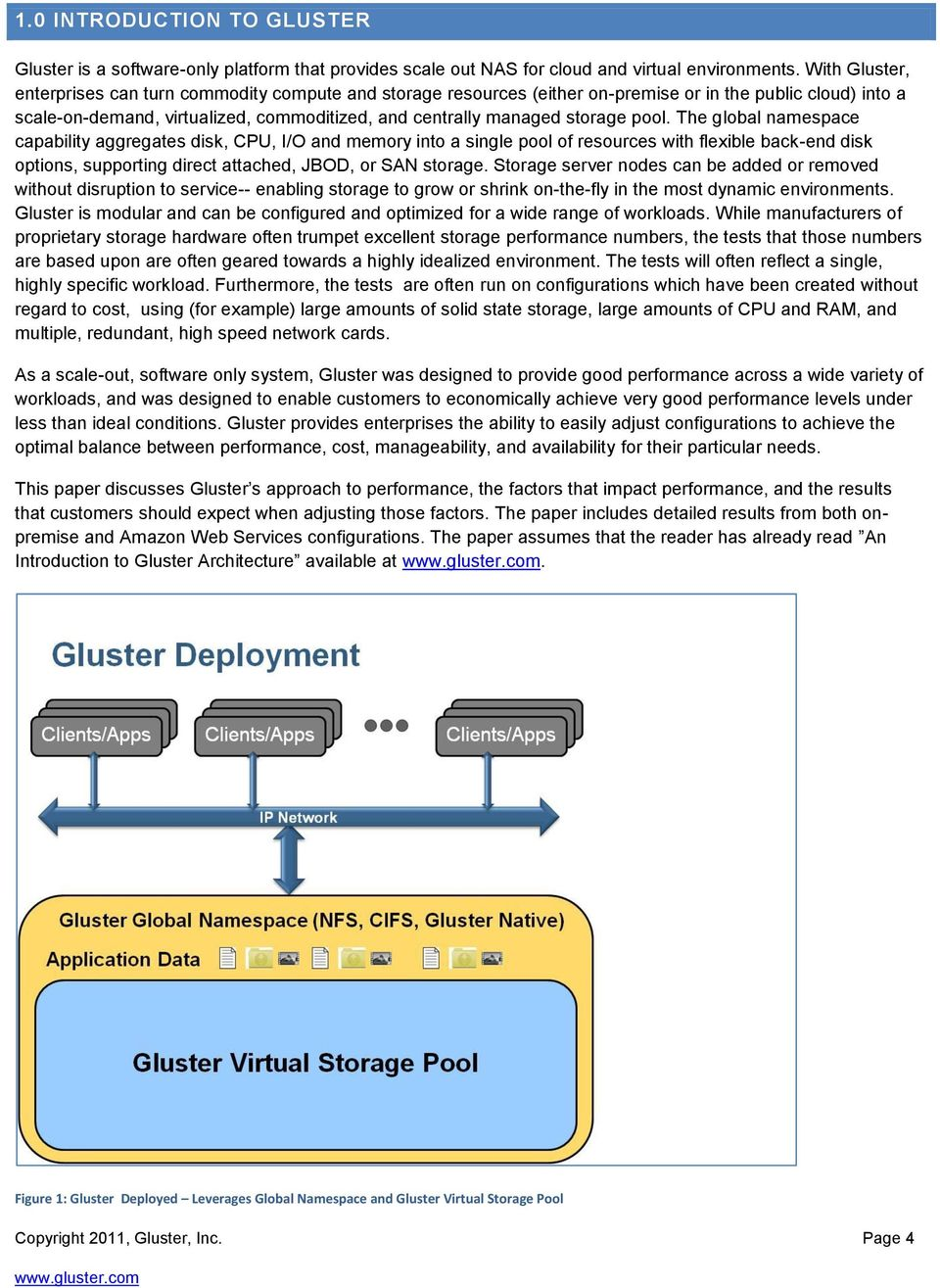 Performance in a Gluster System  Versions 3 1 x - PDF