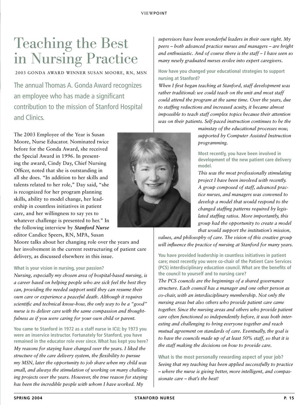 Building a New Nursing Model  Collaborative Governance of