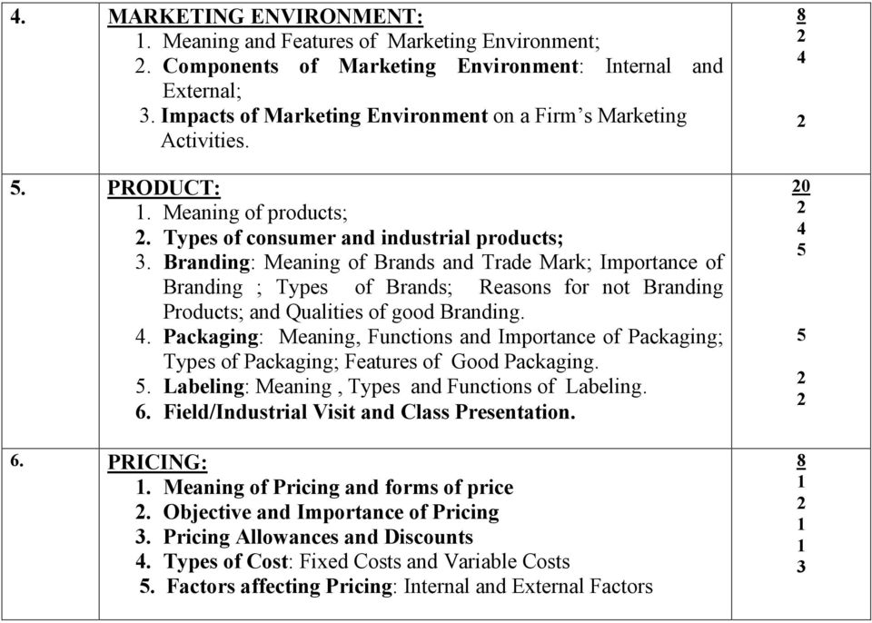 Branding: Meaning of Brands and Trade Mark; Importance of Branding ; Types of Brands; Reasons for not Branding Products; and Qualities of good Branding.