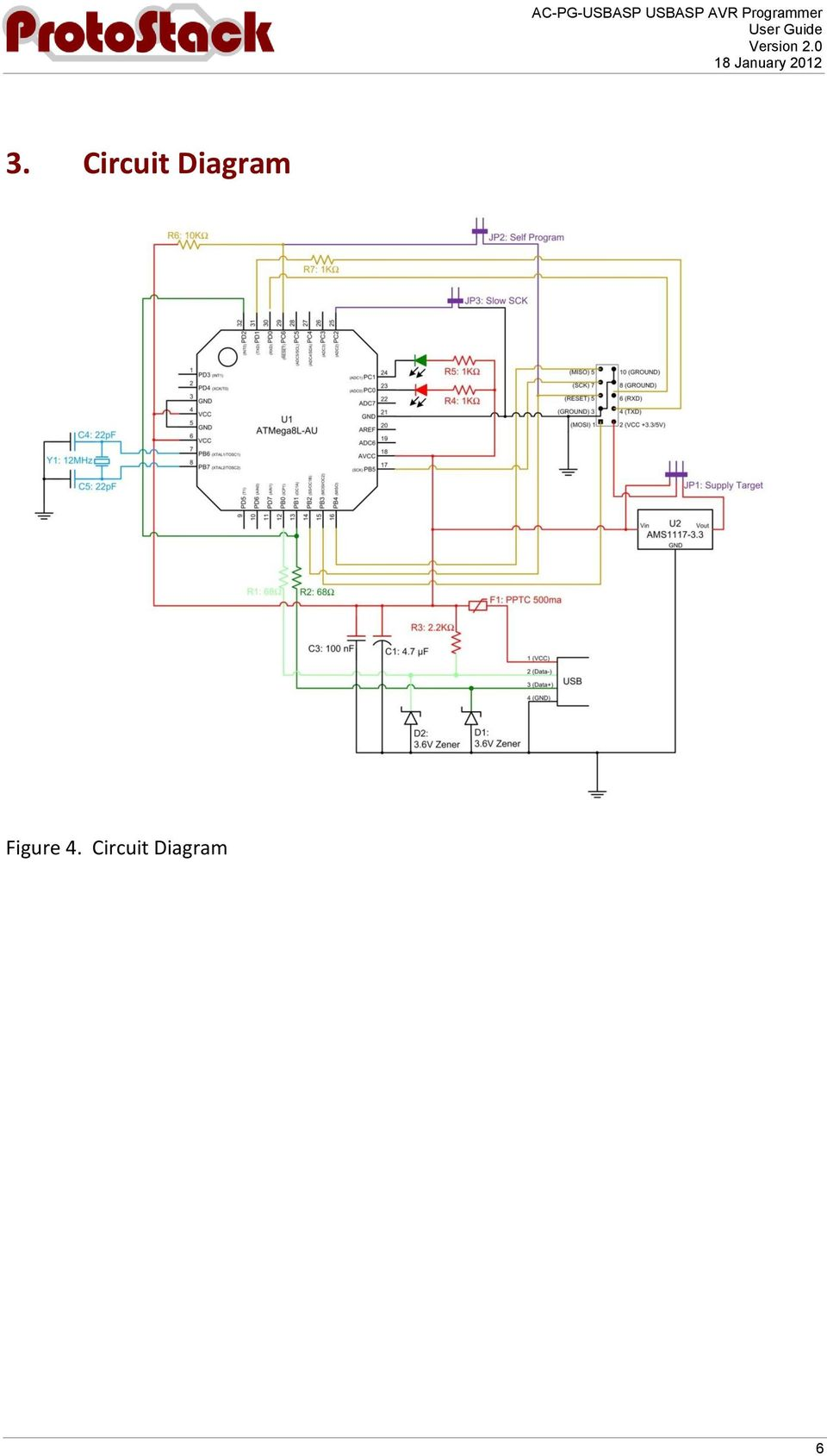 Ac Pg Usbasp Avr Programmer Pdf Pic Circuit Using The 41 Connecting To Your Computer Comprises Of 2 Steps A