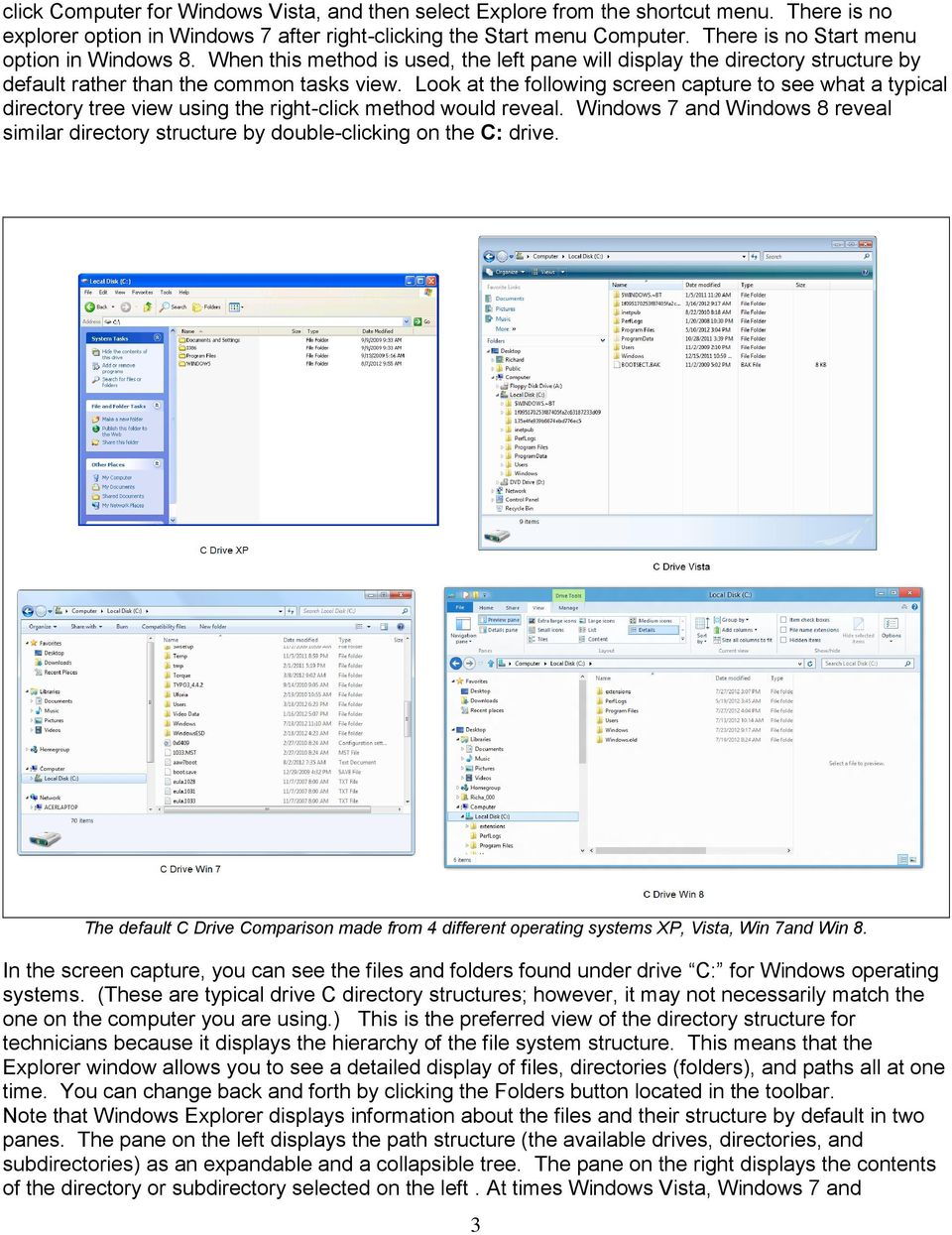 Lab Activity File Management with Windows Explorer Windows XP, Vista