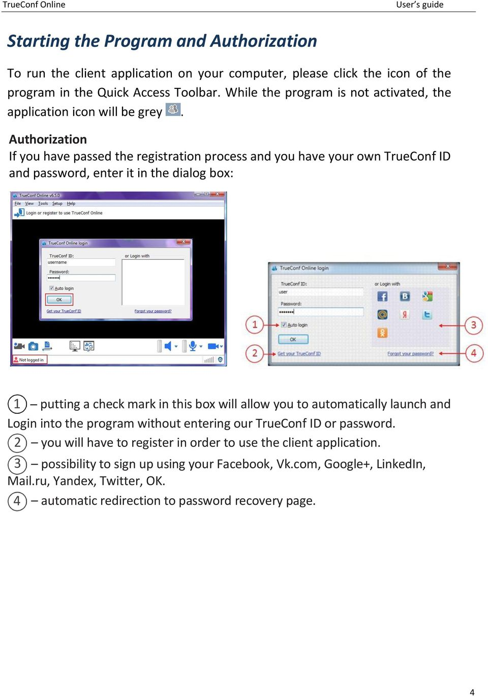 Installing and Configuring TrueConf Online - PDF