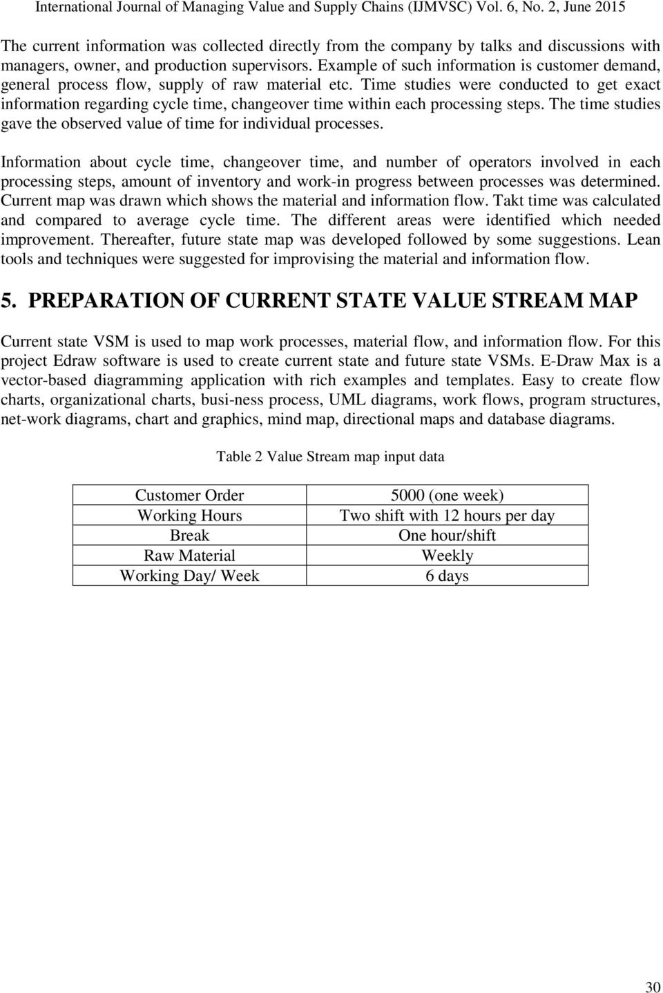 Reduction Of Work In Process Inventory And Production Lead Time A Flow Diagram Vs Value Stream Map Studies Were Conducted To Get Exact Information Regarding Cycle Changeover Within Each 5 Figure 2 Current State