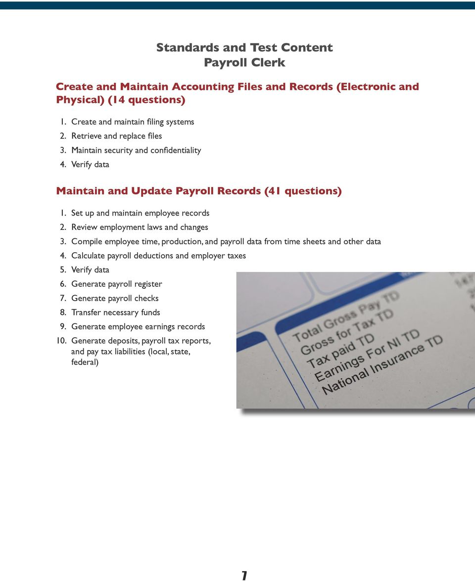 charge bookkeeper test questions