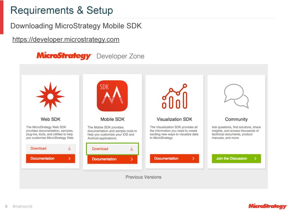 Customize Mobile Apps with MicroStrategy SDK: Custom