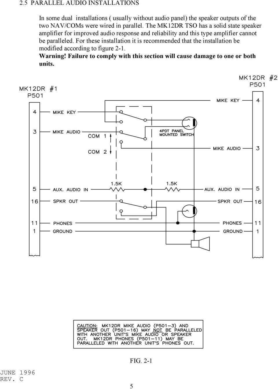Wiring Diagram Manual Kx 155 Mk12d Tso Mk12 Mk12a Mk12b Replacement Radio Pdf The Mk12dr Has A Solid State Speaker Amplifier For Improved Audio Response And Reliability