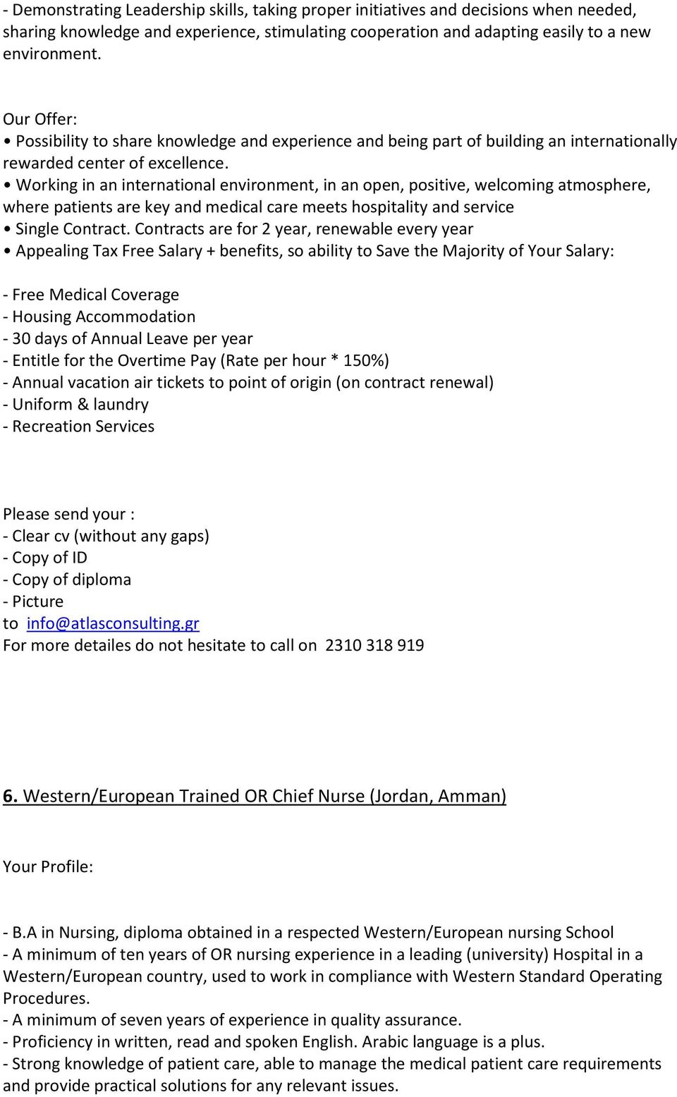 Jobs Position for Doctors in France - PDF