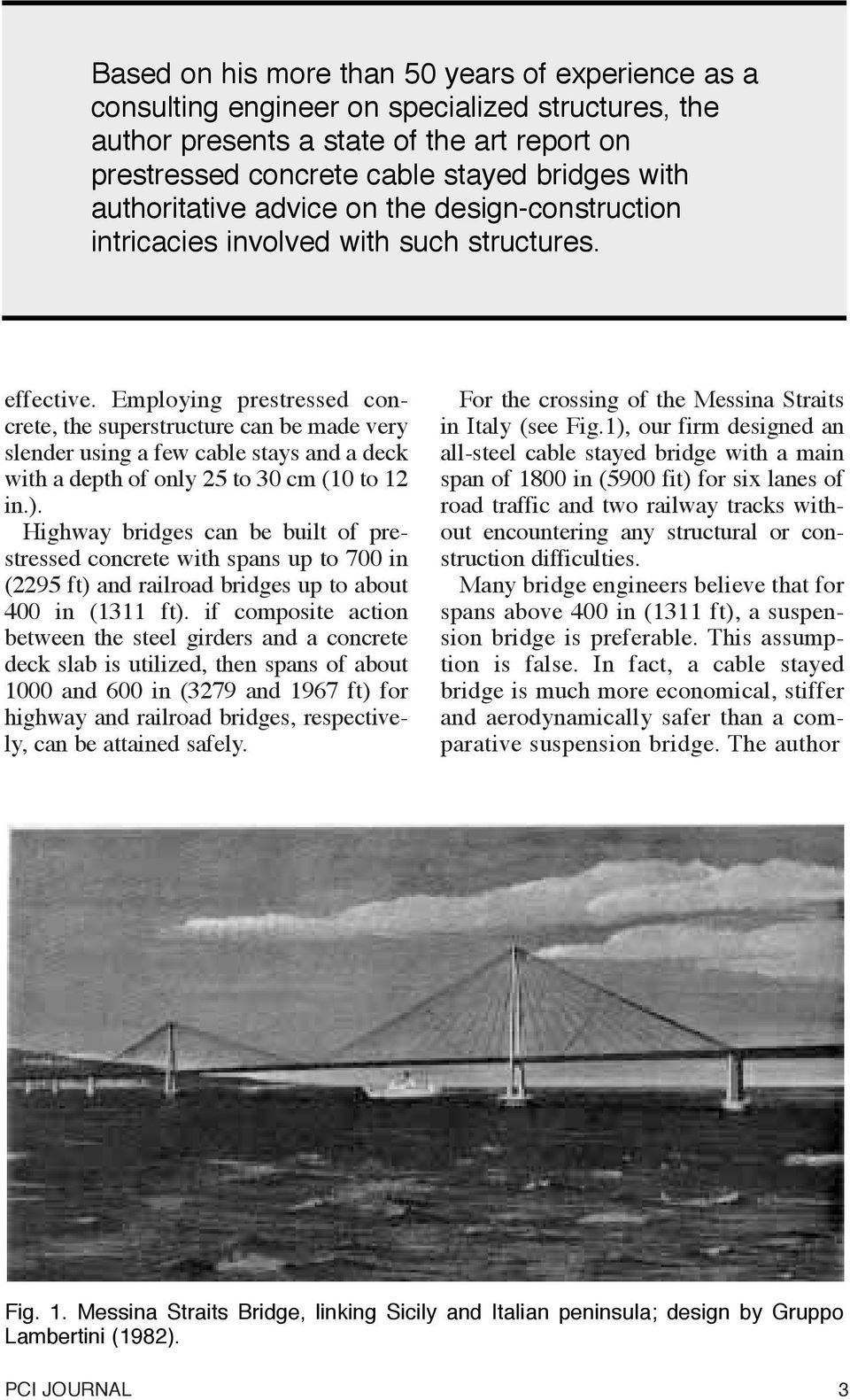 Cable Stayed Bridges  With Prestressed Concrete - PDF