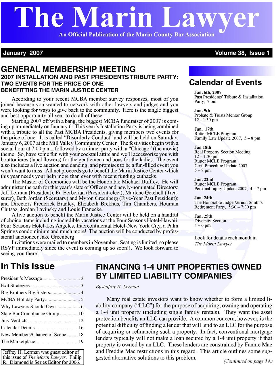 The Marin Lawyer An Official Publication Of Wiring Instructions For Ocwen Loan Servicing Joined Because You Wanted To Network With Other Lawyers And Judges Were Looking