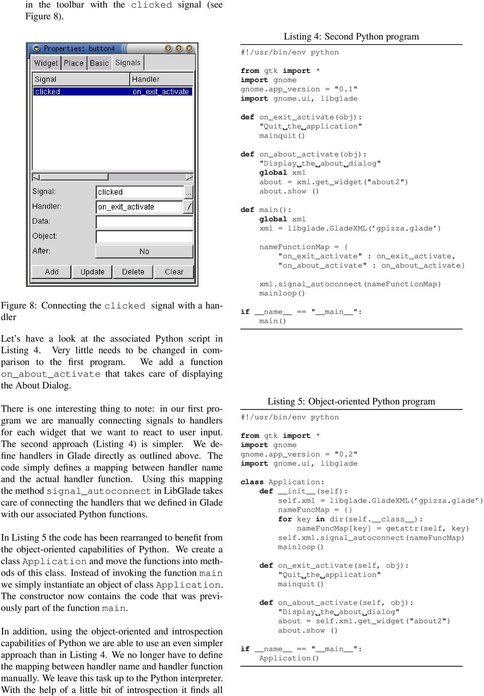 Rapid Application Development with GNOME and Python - PDF