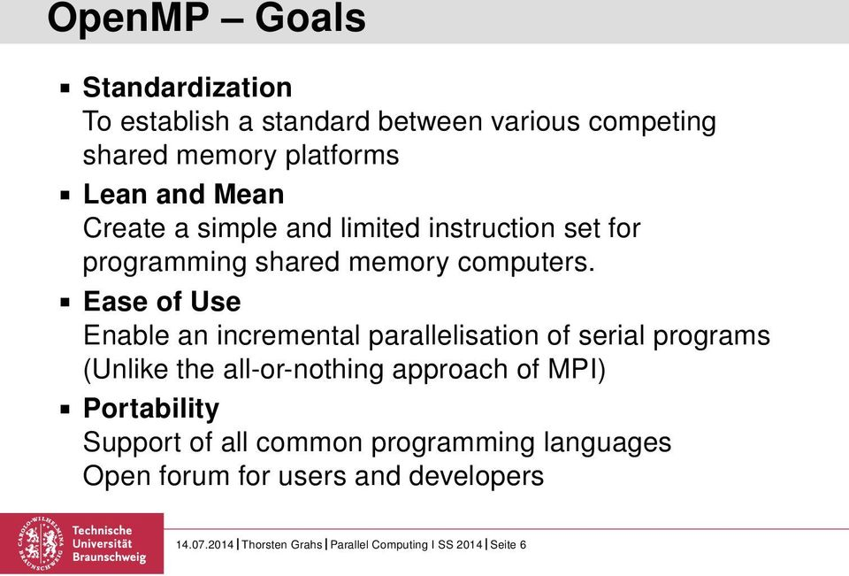 Mpi c parallel pdf openmp programming in and with