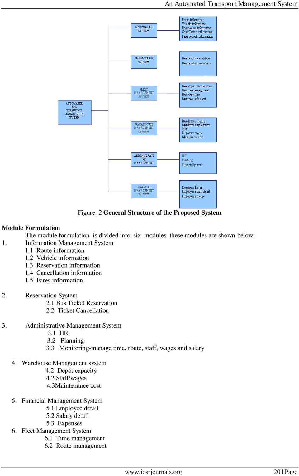 An Automated Transport Management System Pdf Free Download