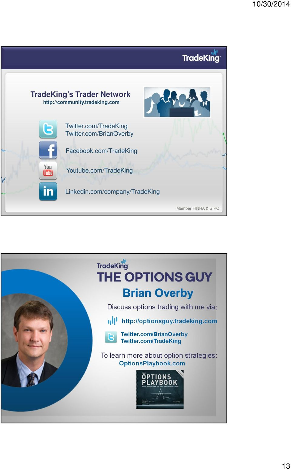 com/company/TradeKing Member FINRA & SIPC Discuss options trading with me via: