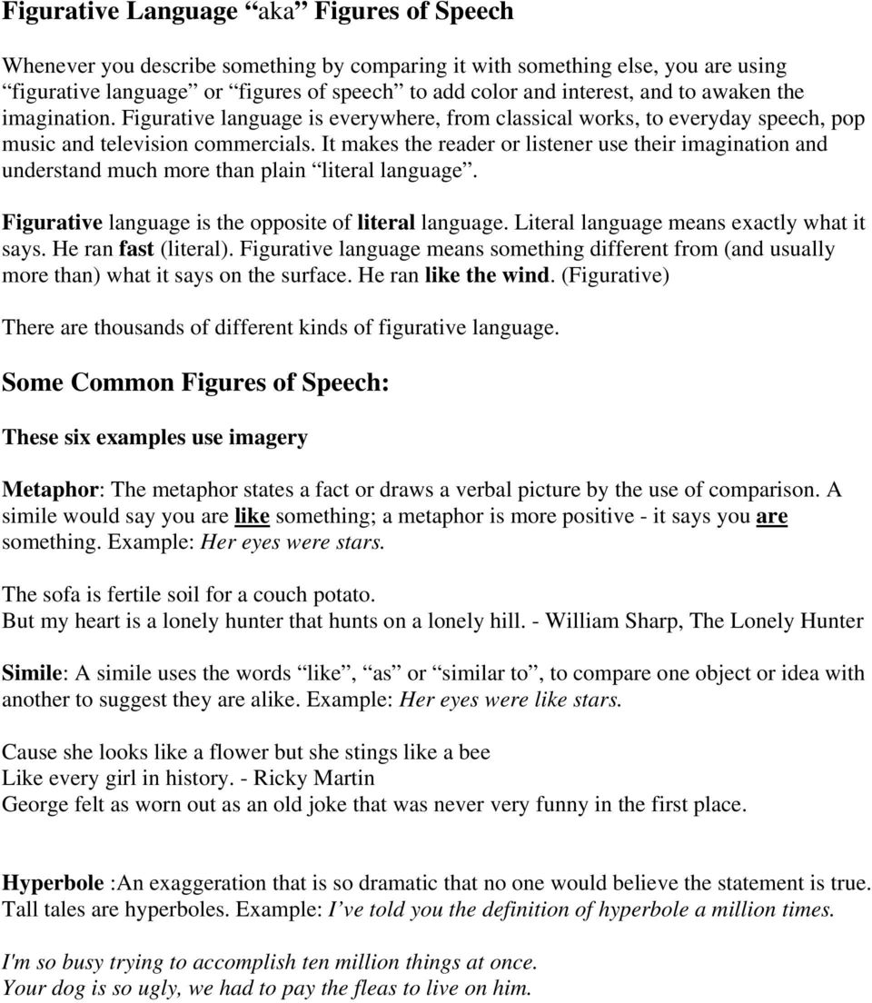 figurative language in advertising - pdf