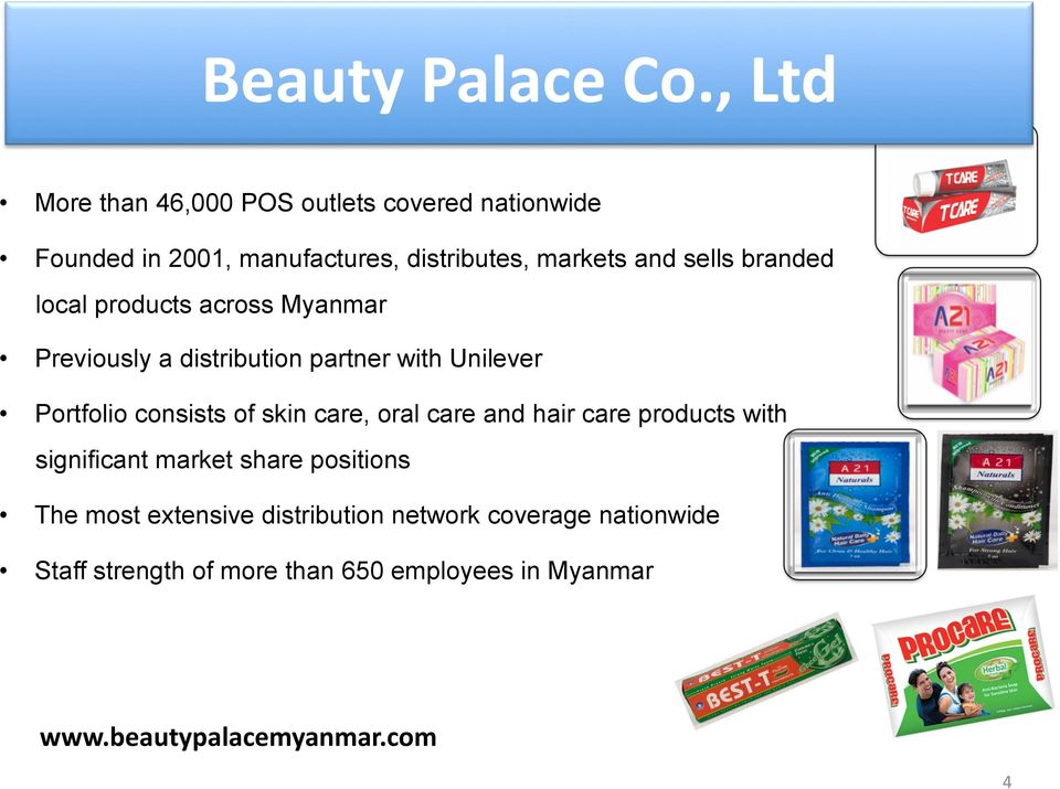 Fmcg Distribution Company In Myanmar