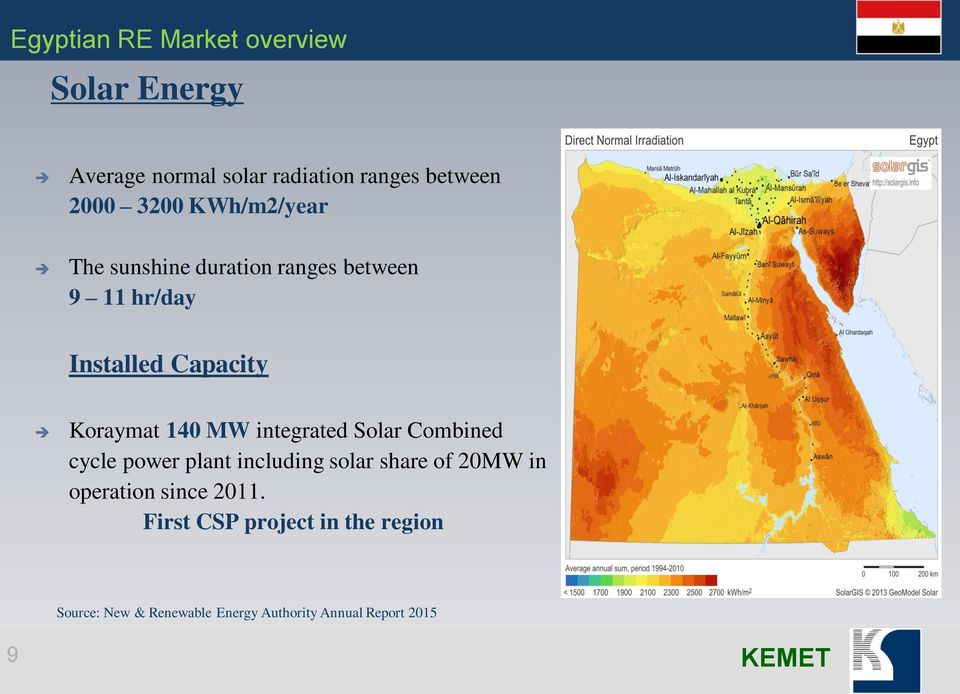 integrated Solar Combined cycle power plant including solar share of 20MW in operation