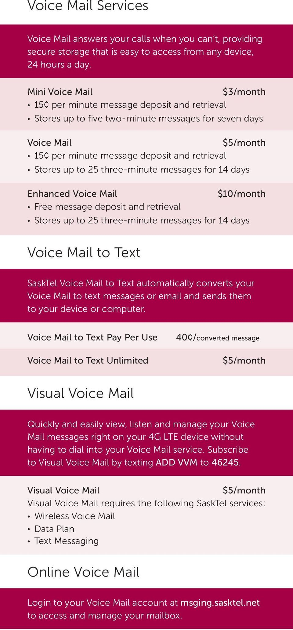 Your complete wireless rate plan and features guide - PDF