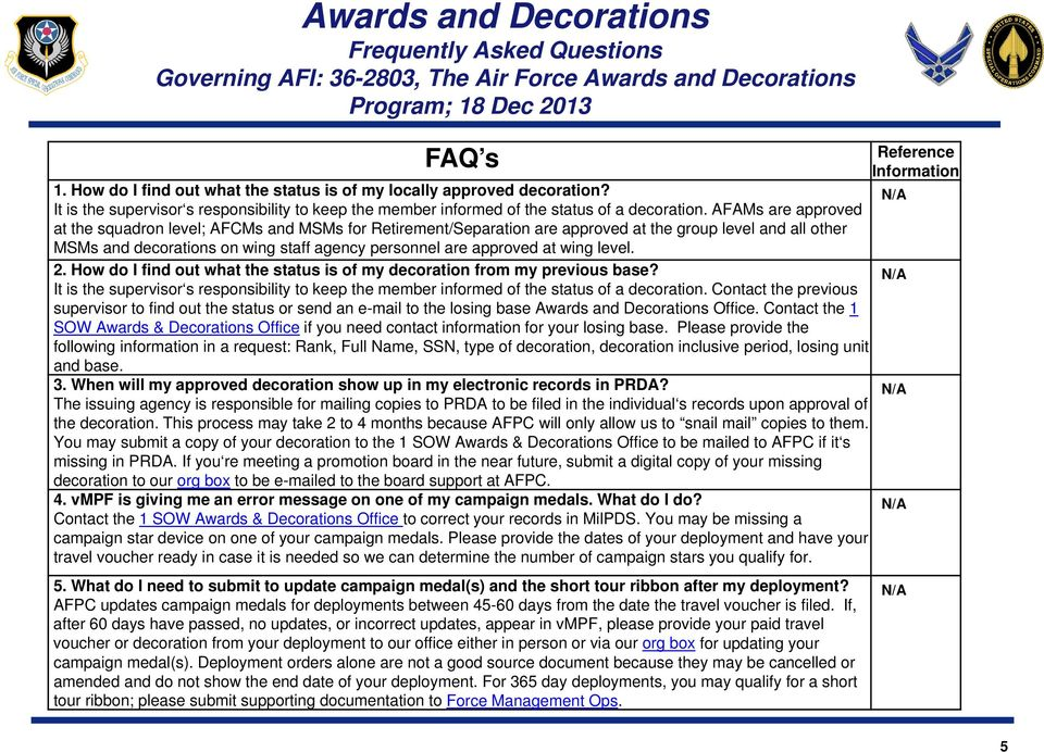 Military Personnel Section (MPS) - PDF