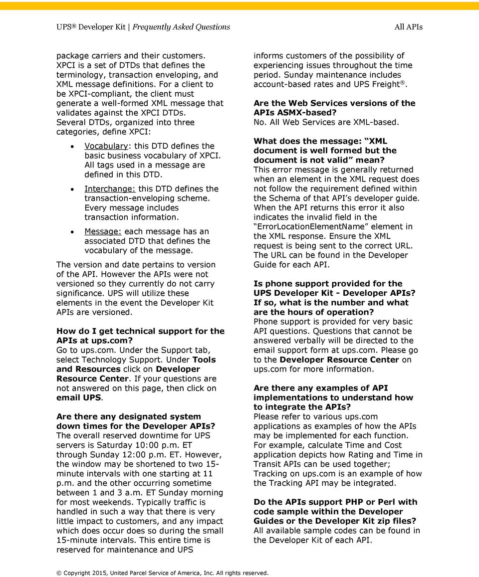 Frequently asked questions - PDF