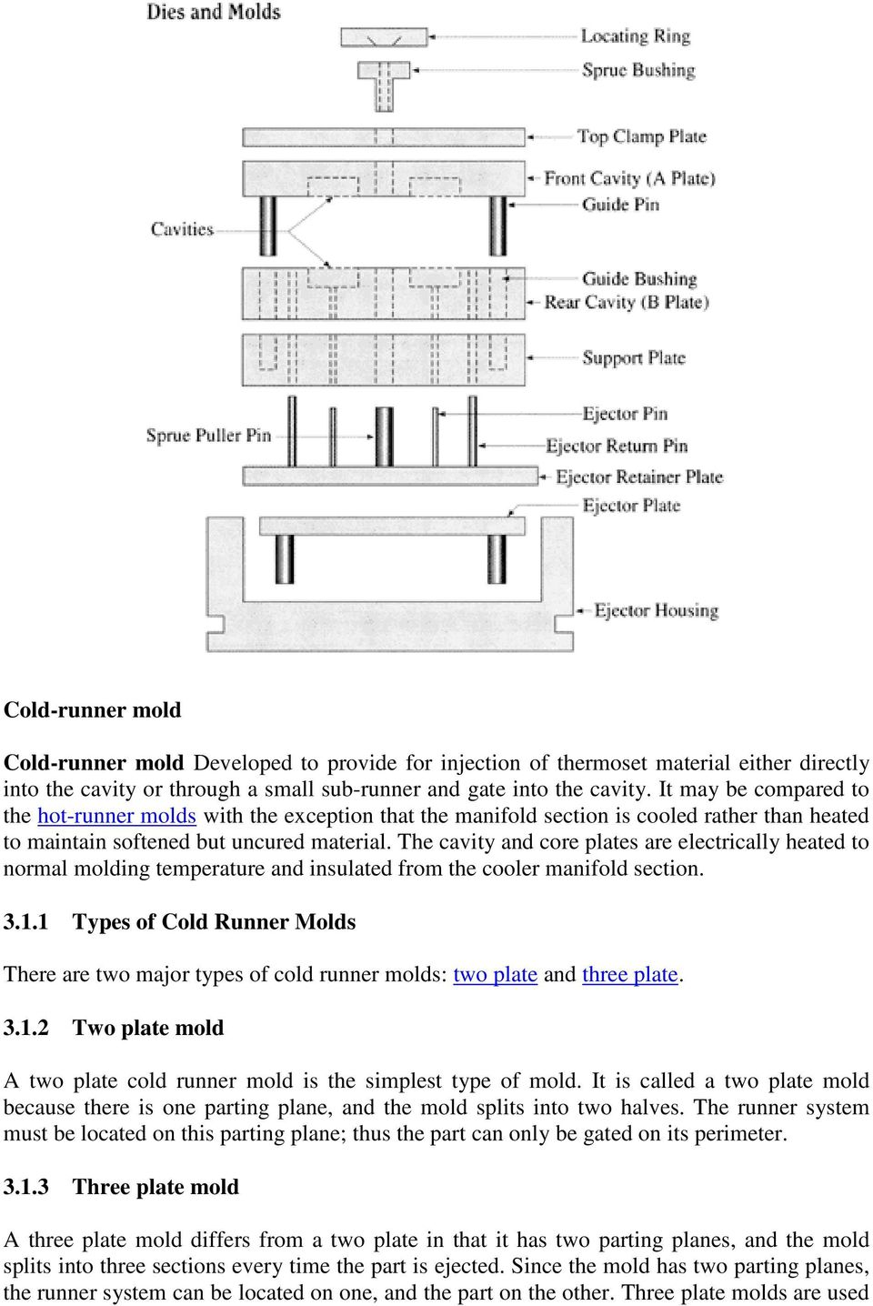 Design and manufacturing of plastic injection mould - PDF