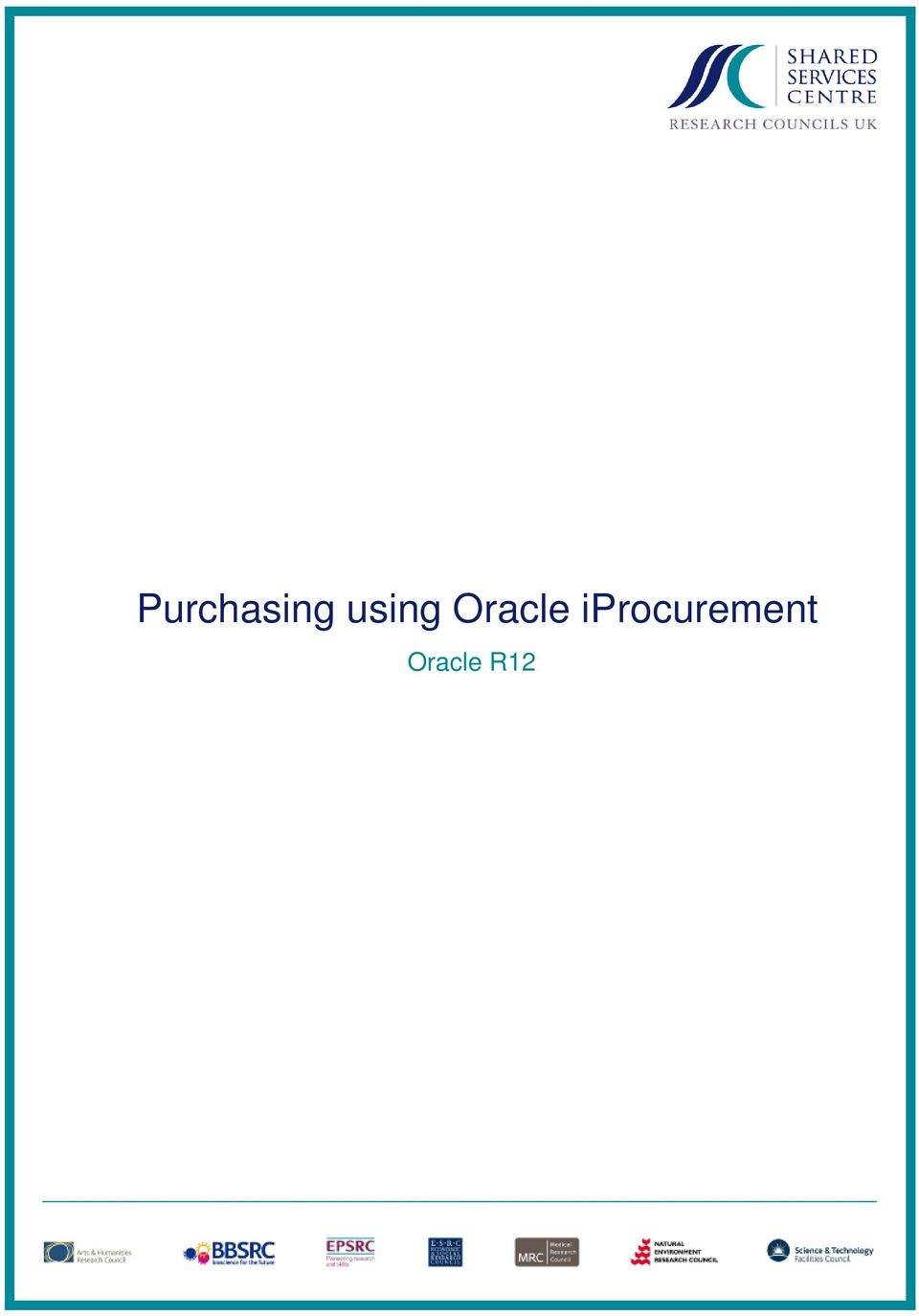 Purchasing using Oracle iprocurement  Oracle R12 - PDF