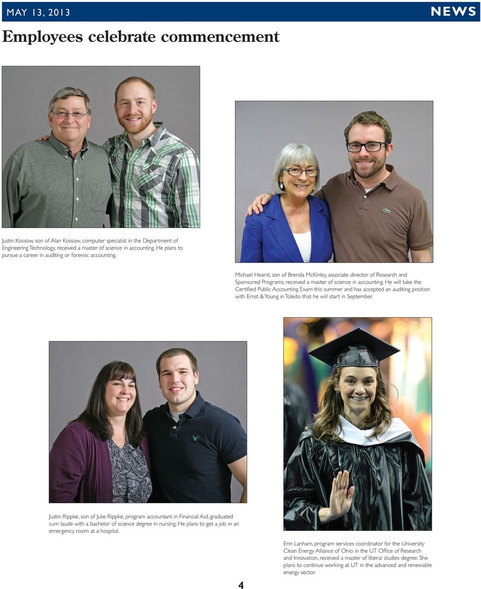 Commencement cheer  Digitally yours  Faculty members recommended for