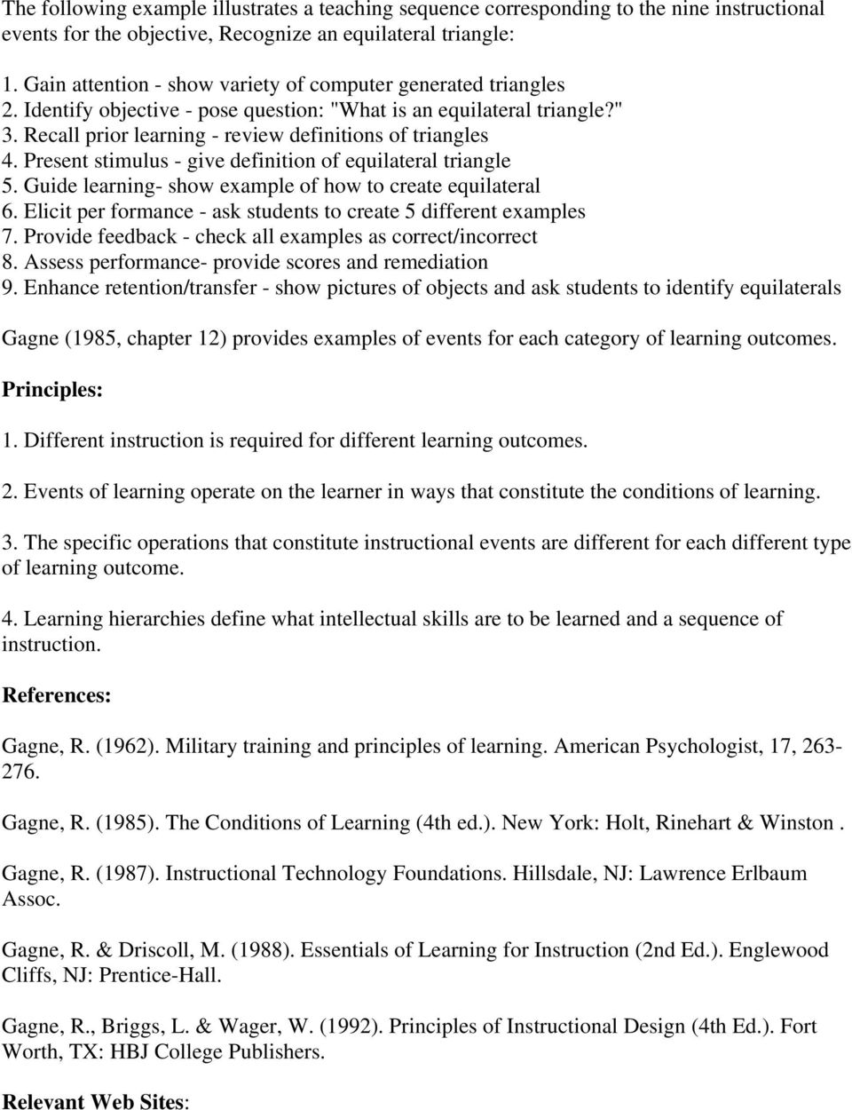 Conditions Of Learning R Gagne Pdf Free Download